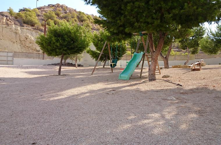 playground area for kids inside the community area