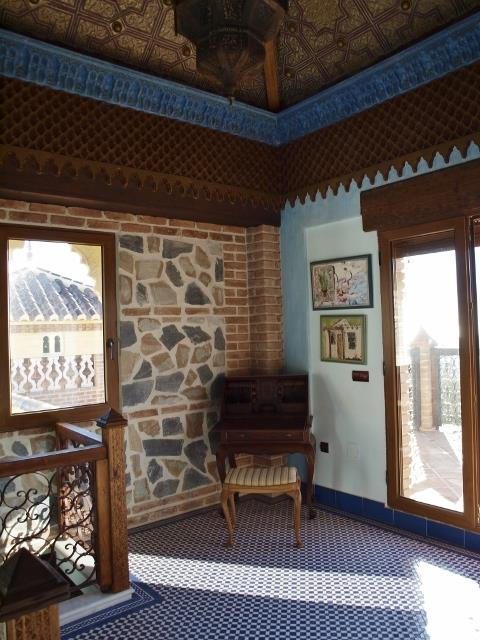 Villa nº3 (AHRVi103.3): lounge in moorish tower & panorama terrace