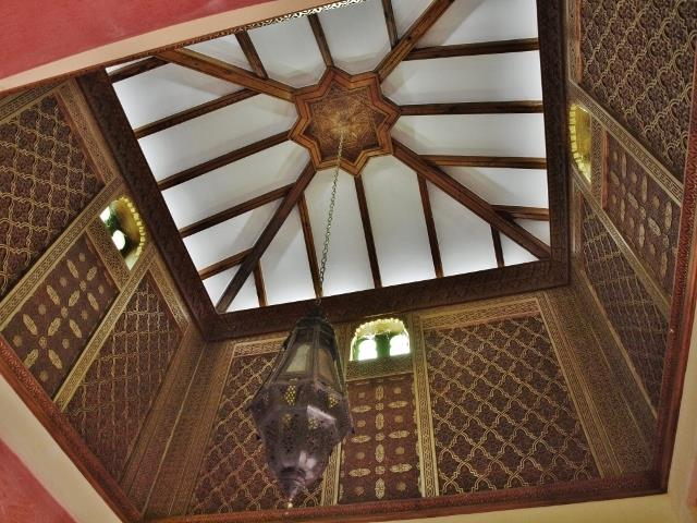 Villa nº3 (Ref AHRVi103.3): moorish ceiling feature of tower
