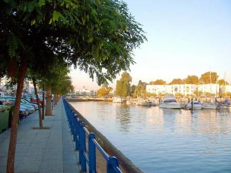 Ayamonte town is nearby