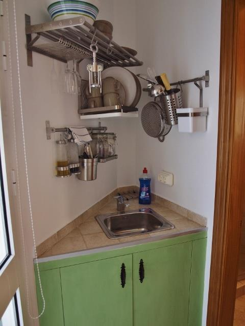 small kitchen guest unit
