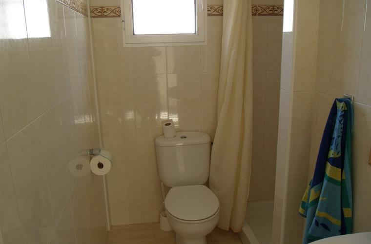 Upstairs shower room