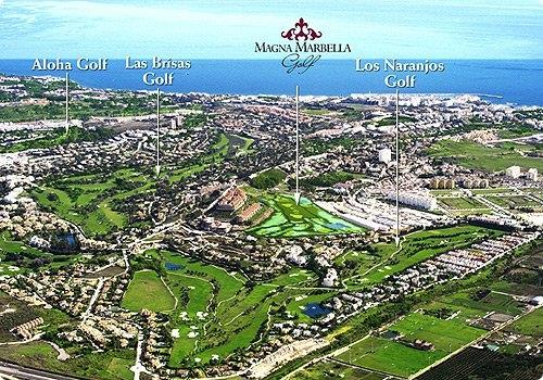 Golf Courses next to Magna Marbella.
