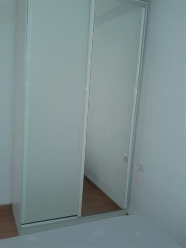 wardrobe with mirror door