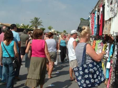 street market- one somewhere nearby everyday-