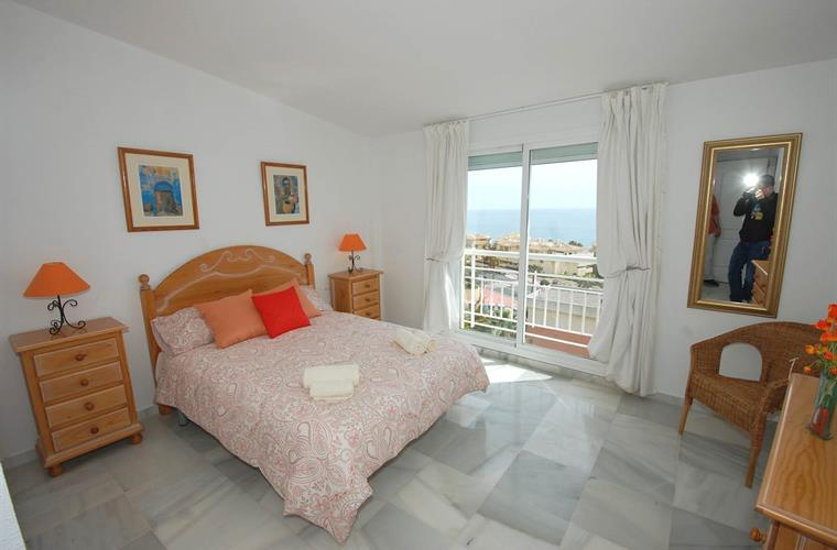 Spacious master bedroom with seaview and ensuite facilities