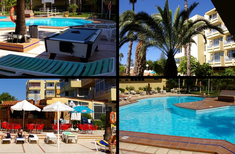 Gardens and Swiming-pool facilities