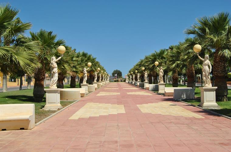 Entrance of Mazarron Country Club.