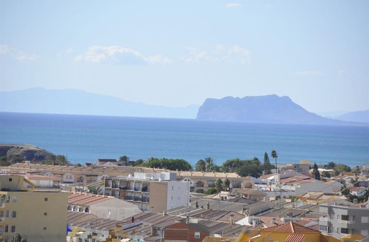 View from balcony towards Aguilas