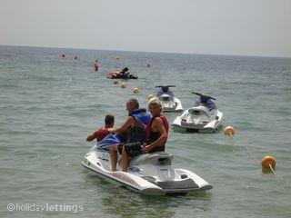 Jet Skis at Isla Plana
