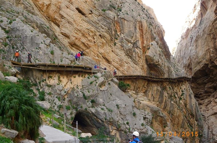 While you're here, visit the spectacular walk of Caminito del Rey