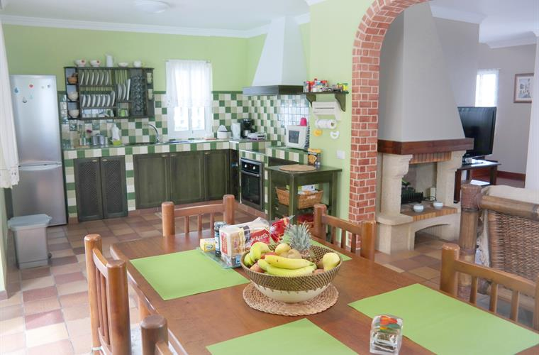 Kitchen and dinning area. Ground floor