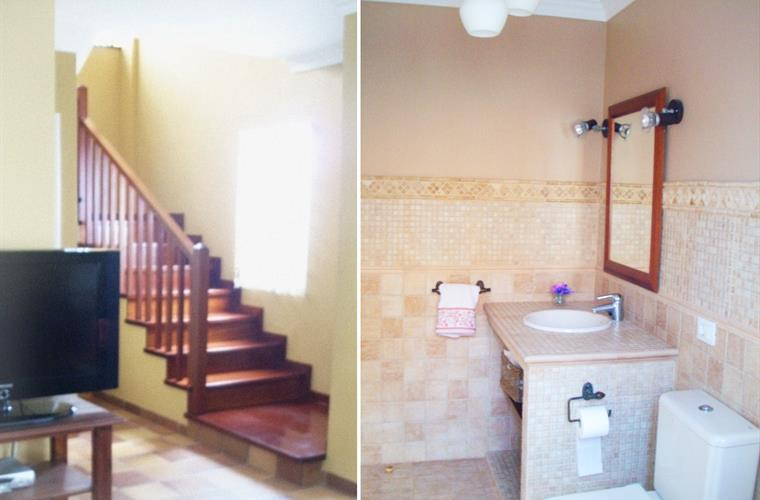 Toilet downstairs + Stairs