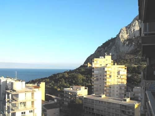 View of the peñon