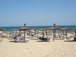 La Zenia blue flag beach only five minutes walk