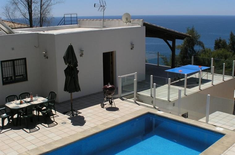 Yours to enjoy the sea views, a dip in the pool and relax