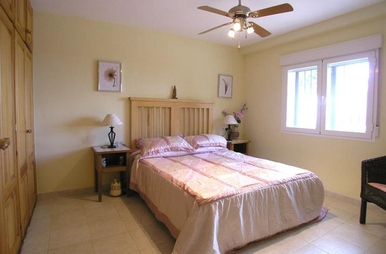 The second large double bedroom