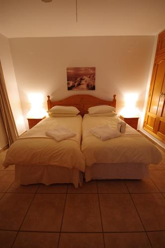 One of the master en-suite bedrooms