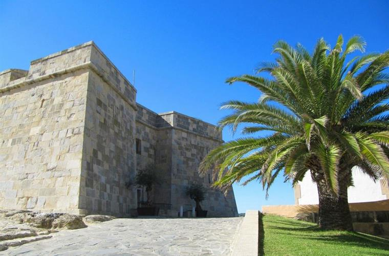 The beautiful Moraira castle, you can visit inside in the summer.
