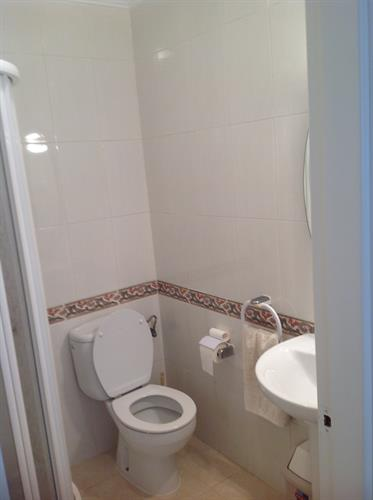 Shower room with wc & basin