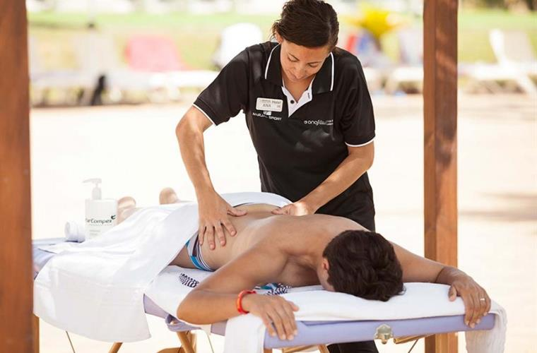 Massage outside