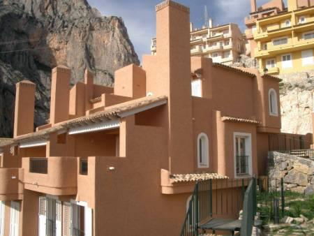 Girasoles Town house, overlooking the bay of Altea.