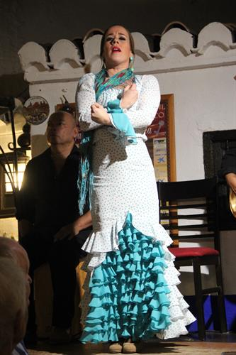 flamenco every thursday and sunday in La Ventura, Almunecar
