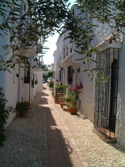 Typical Street in Capistrano Village