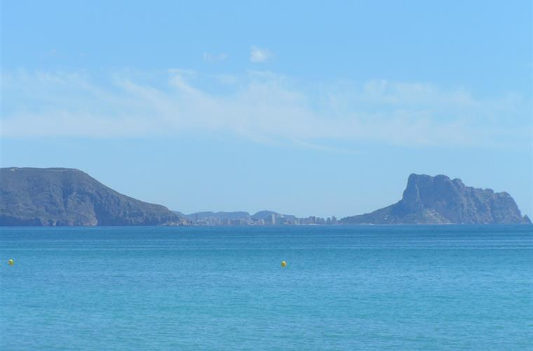 View toward Calpe