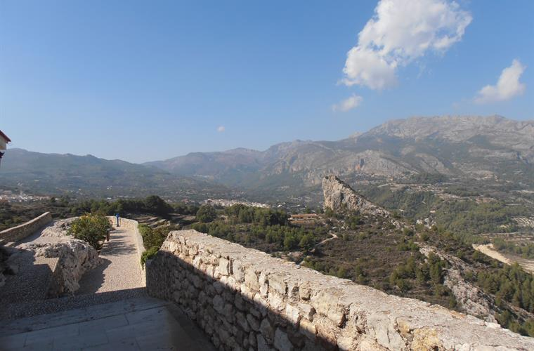 Nice view from Guadalest.