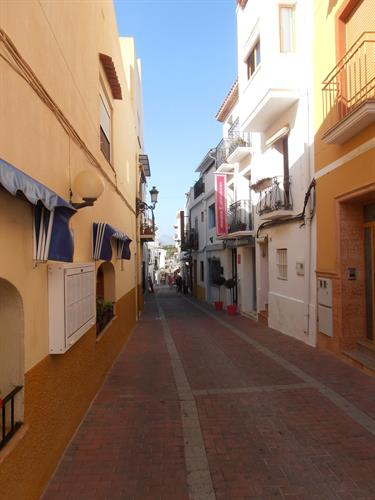 Enough beautiful streets in Moraira.