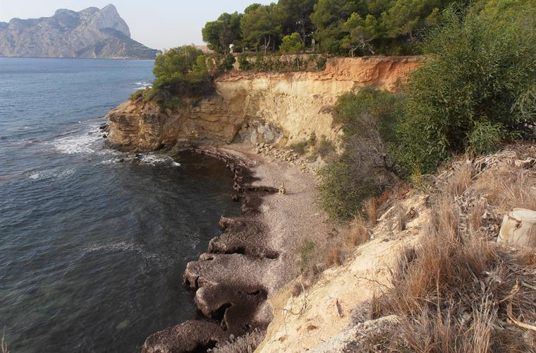 A nice walk along the coast to Calpe.