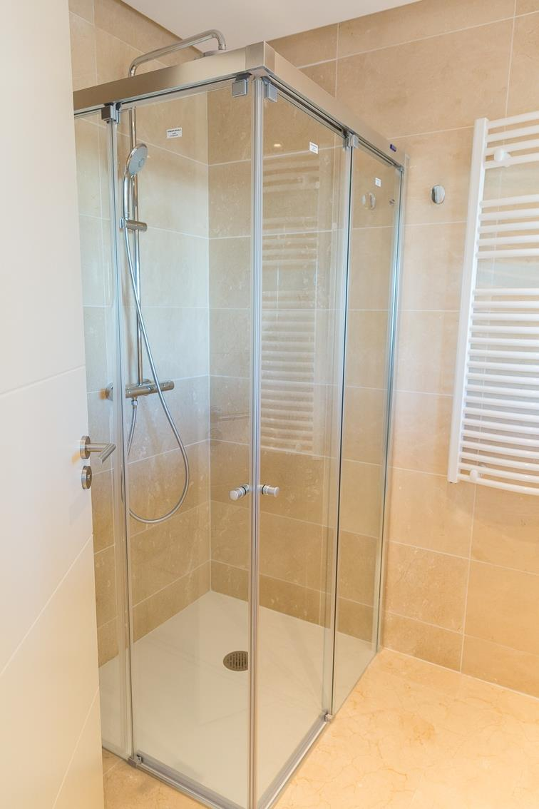 Walk-in deLuxe Shower
