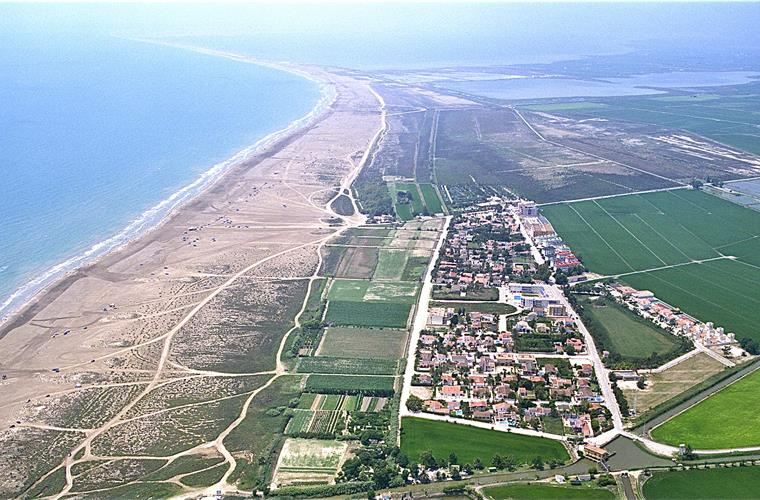 The Ebro Delta Nature Reserve protected by UNESCO