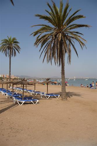Another superb beach from around the Mar Menor.