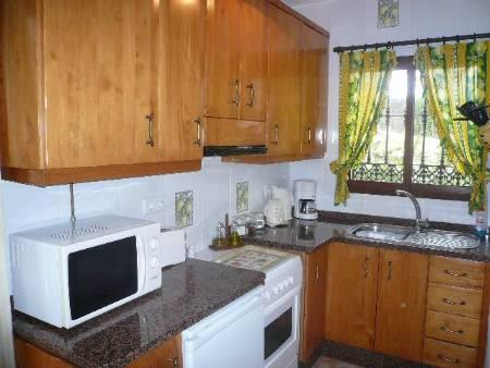 Fully fitted kitchen at El Corcho Villa
