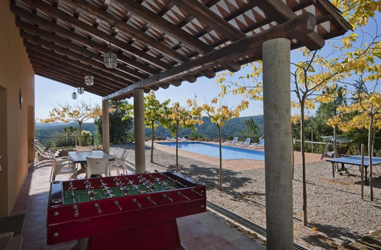 The perfect villa for a family with kids or for a group of friends