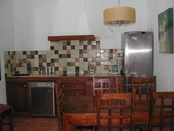 Kitchen-Dinning room fully equipped with dishwasher.