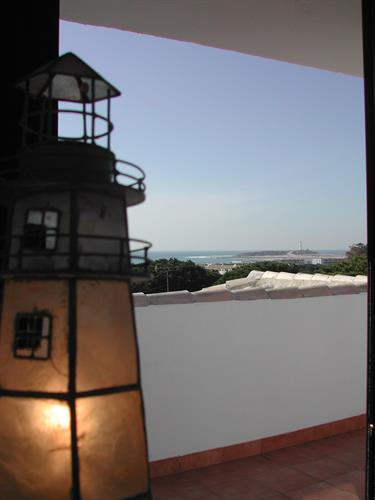 Beautifull sea views to trafalgar`s Light-House from the Attic.