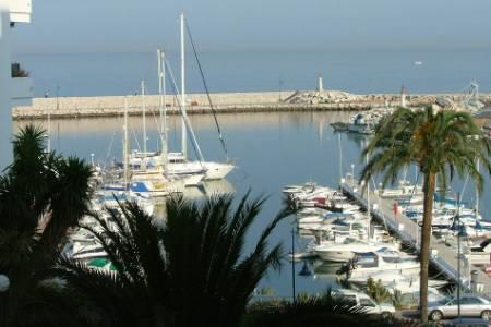 Estepona Marina taken from our Terrace!!