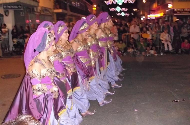 ALTEA Moors and Christians parade 2013