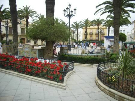 Pretty square in the local town of Ayamonte