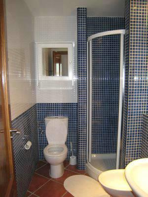 One of two bath rooms