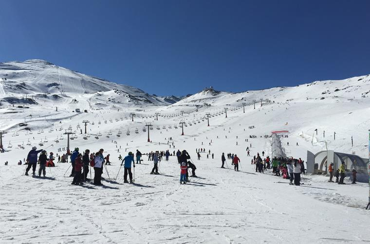 Go skiing in Sierra Nevada, just a 2 hours drive away (Dec-April)