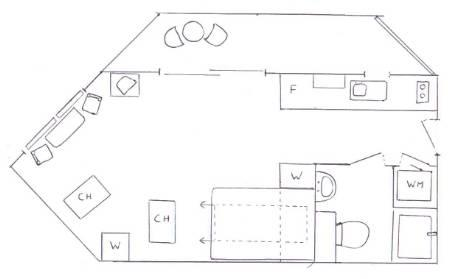 Plan of Interior