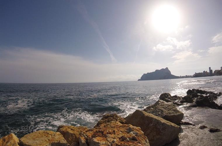Calpe's Peñon sight