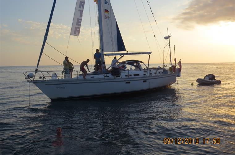 yachting on the Mediterranean excursion