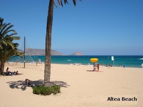 Altea Beach - 3 minutes walk