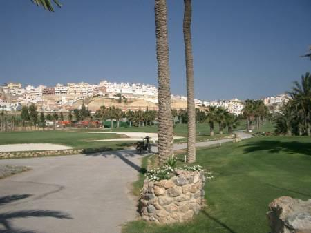 The house seen from La Marguesa golf club