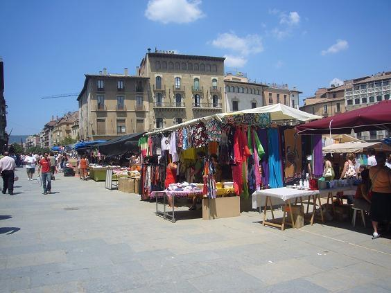 Enjoy a market day in Vic or the small market in Gironella